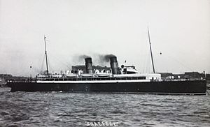 SS Snaefell (1906) - Image: TSS Snaefell on Steam Packet service