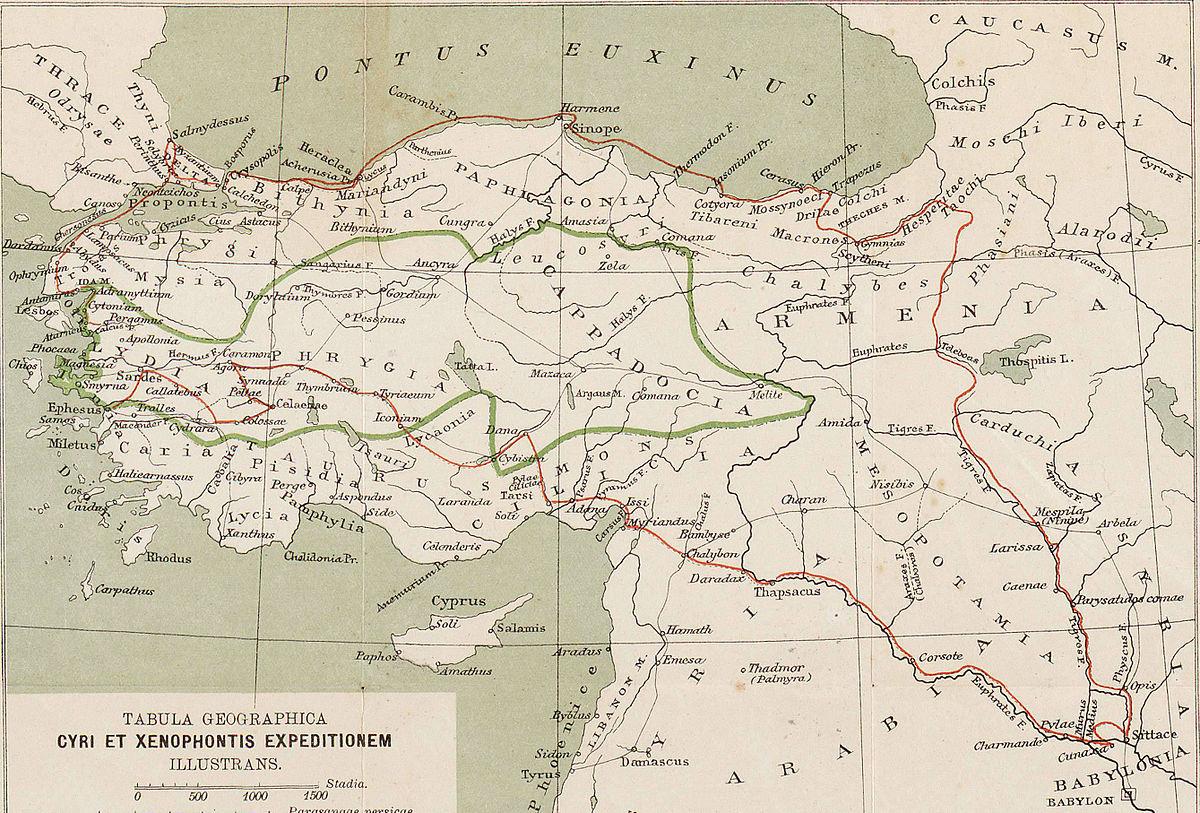 Anabasis Xenophon Wikipedia