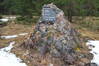 Battle of Taipale - Memorial near Solovyovo (Taipale)