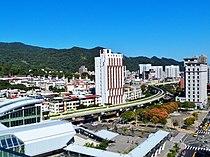 Taipei Metro Neihu Line Birdview 20121020.jpg