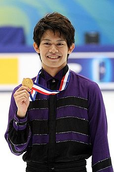 Takahiko Kozuka beim Cup of China 2010