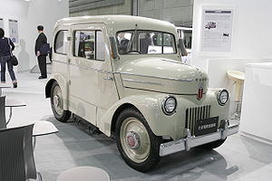 Mechanical Engineering Heritage (Japan) - Electric vehicle TAMA, Heritage No. 40.