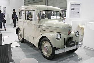 Mechanical Engineering Heritage (Japan) - Electric vehicle TAMA, Heritage No. 40.