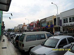 Kepong - Image: Taman Usahawan Kepong 04 Jan 2015 (1)