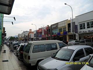 Kepong Town in Federal Territory of Kuala Lumpur, Malaysia