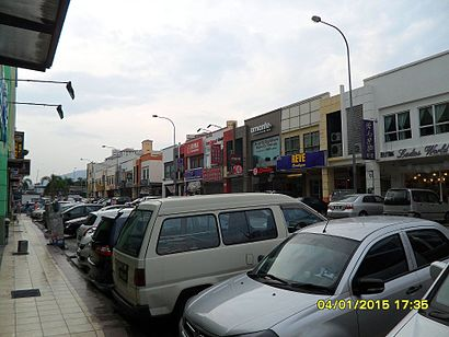 How to get to Kepong with public transit - About the place