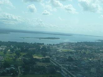 Tanga, Tanzania - Aerial view