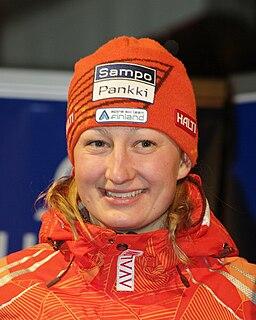 Tanja Poutiainen Finnish alpine skier