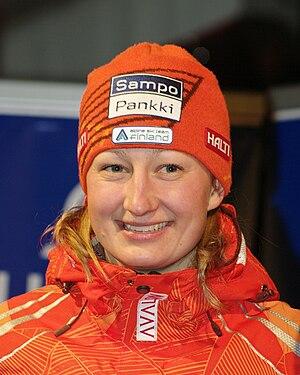 Tanja Poutiainen - Poutiainen in 2010