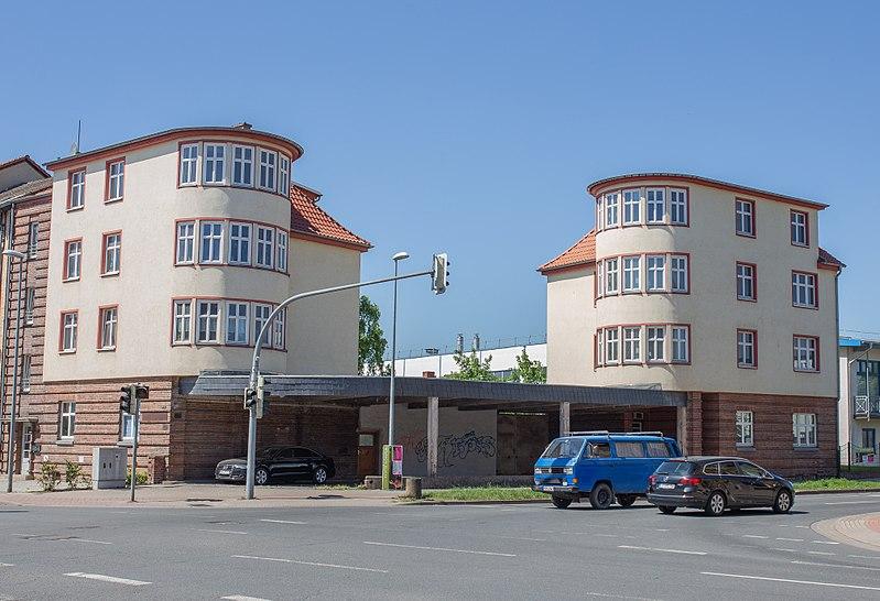 Datei:Tankbahnhof Rhenania-Ossag Nordhausen.jpg