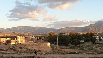 Taourirt, Morocco - The entrance of Taourirt city