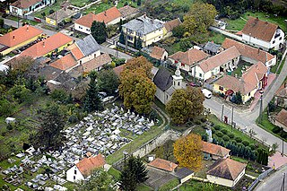 Tarnaszentmária Village in Northern Hungary, Hungary