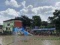 Tarpan or Tarpana ritual - Bagbazar ghat in Kolkata 03.jpg
