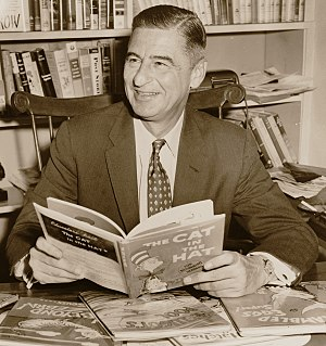 Dr. Seuss - Theodore Seuss Geisel in 1957