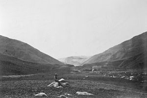 Tejon Pass - Tejon Pass near Grapevine, California in 1868