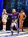 Tekken cosplay models at E3 2012 (7350568604).jpg