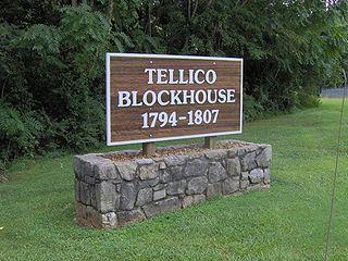 Tellico Blockhouse United States historic place
