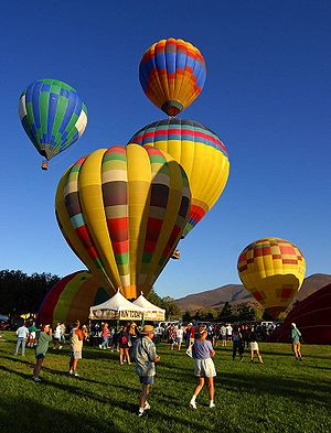 Temecula, California - Temecula Valley Balloon and Wine Festival