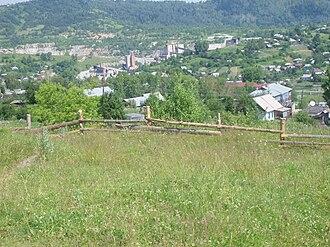 Tashtagolsky District - The urban-type settlement of Temirtau in Tashtagolsky District