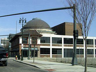 Bonstelle Theatre - Image: Temple Beth El (Bonstelle Theatre)