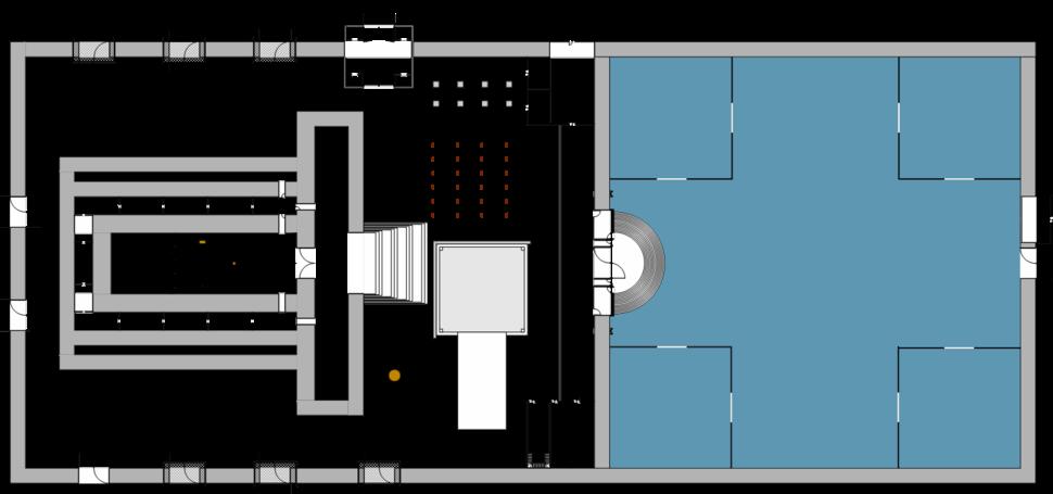 Temple sketch- nashim