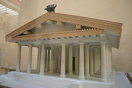 Maquette du temple de Jupiter capitolin