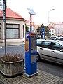 Teplice, Benešovo náměstí, parkovací automat.jpg