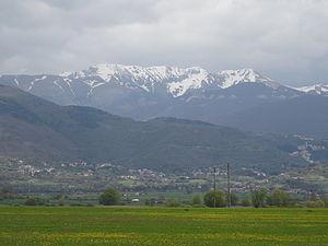 Monti Reatini - Image: Terminillo