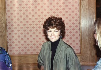 Terri Treas - Actress Terri Treas at a Star Trek Convention in 1991.