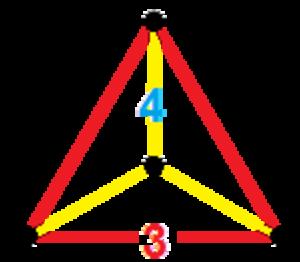 Tetrahedral prism