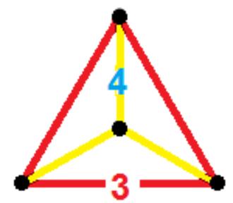 Tetrahedral prism - Image: Tetrahedral prism verf