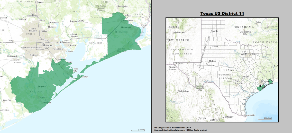 Texas's 14th congressional district   Wikipedia
