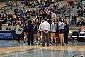Texas Woman's vs. Texas A&M–Commerce volleyball 2015 08.jpg