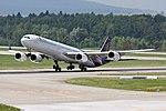 "Thai Airways International Airbus A340-642 HS-TNE ""Nonthaburi"" (25646460423).jpg"