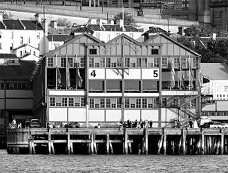 Wharf Theatre - The Wharf Theatre from the harbour