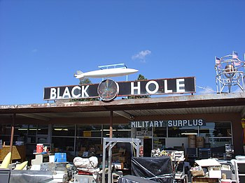 :The Black Hole, Los Alamos