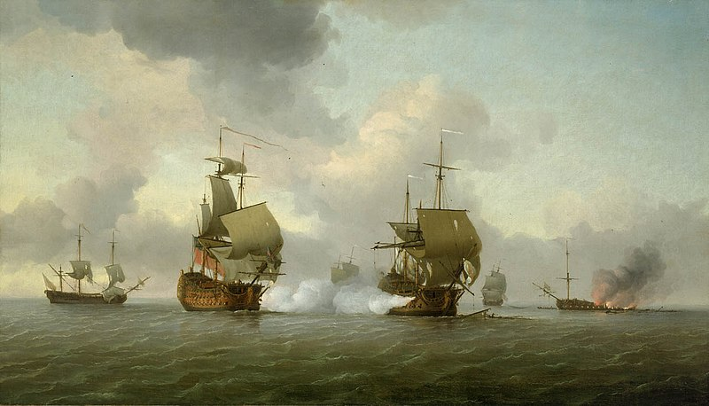 File:The Capture of the 'Glorioso', 8 October 1747.jpg