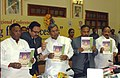"The Chief Minister, Karnataka, Shri. Siddaramaiah releasing the guidelines of ""Sakala on Mobile"" in the presence of the Minister of State for Personnel, Public Grievances & Pensions and Prime Minister's Office.jpg"