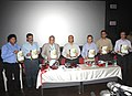 The Chief Minister of Goa, Shri Digambar Kamat with other officials releasing the IFFI-2011 Diary, in Panaji, Goa on November 22, 2011.jpg