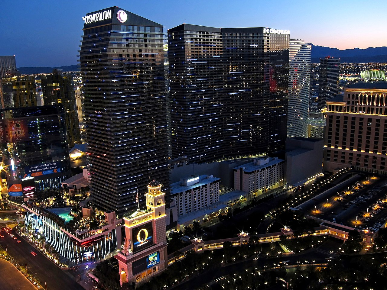 Cosmopolitan Hotel Las Vegas Room Photo Gallery