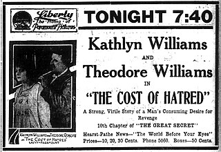 <i>The Cost of Hatred</i> 1917 film by George Melford