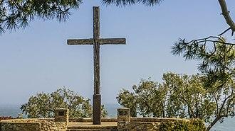 Serra Cross - The cross at Serra Cross Park, 2013