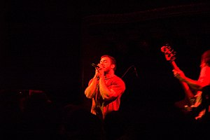 The Dillinger Escape Plan - Greg Puciato and Liam Wilson performing in 2005