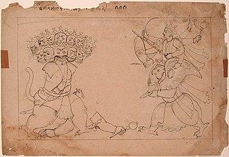 Kalanemi - Image: The Dismembering of the Demon Kalanemi (6124589511)