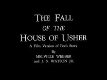 Archivo:The Fall of the House of Usher (1928).webm