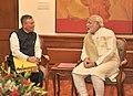 The Governor of Chhattisgarh, Shri Shekhar Dutt calling on the Prime Minister, Shri Narendra Modi, in New Delhi on June 04, 2014.jpg
