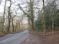 The Greensand Way crosses Hosey Common Road - geograph.org.uk - 1754307.jpg