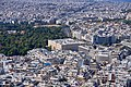 The Hellenic Parliament and the Temple of Zeus from Mount Lycabettus on September 28, 2019.jpg