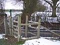The High Weald Landscape Trail crosses Sandhurst Lane - geograph.org.uk - 1710250.jpg