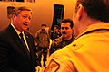 The Honorable Michael Donley, Secretary of the Air Force, talks with Maj. Gen. Mohammad Dawran, Afghan National Army Air Corp commanding general, at Kabul International Airport. (4330616384).jpg
